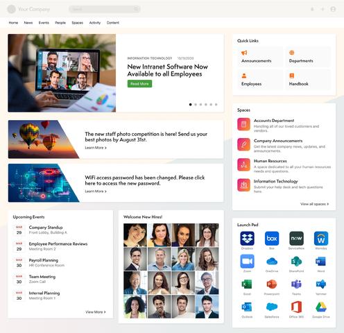 Axero screenshot: The Ultimate Digital Workspace