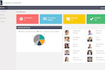 WaveMaker screenshot: Templates for company dashboards are built into WaveMaker