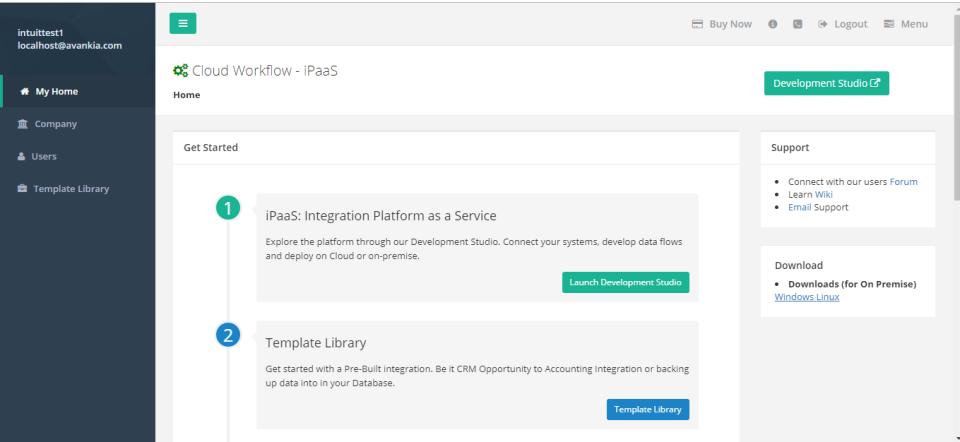 Cloud Workflow - iPaaS Software - Cloud Workflow - iPaaS home page