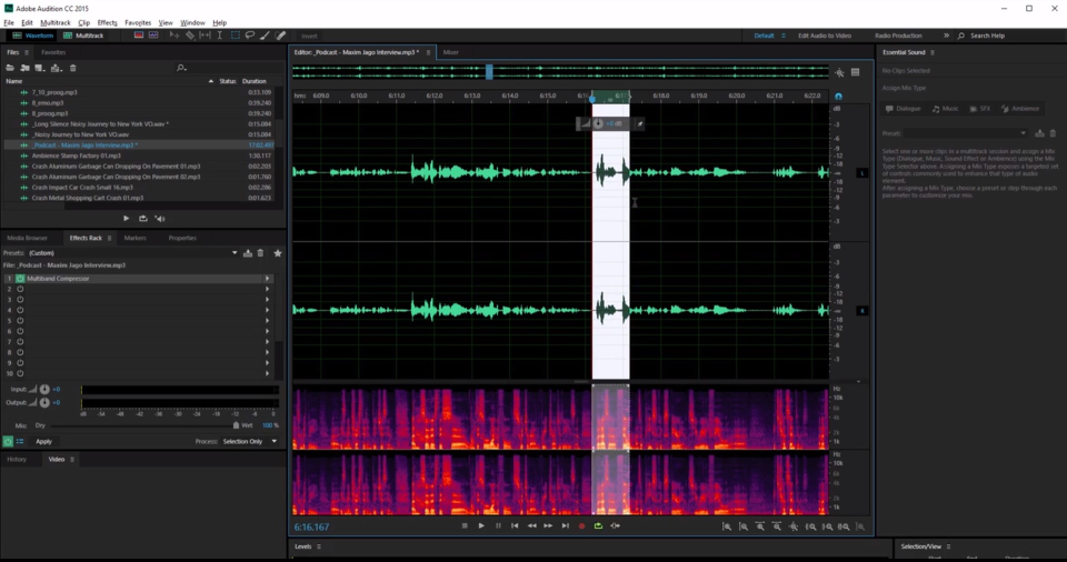 Adobe Audition Software - 3