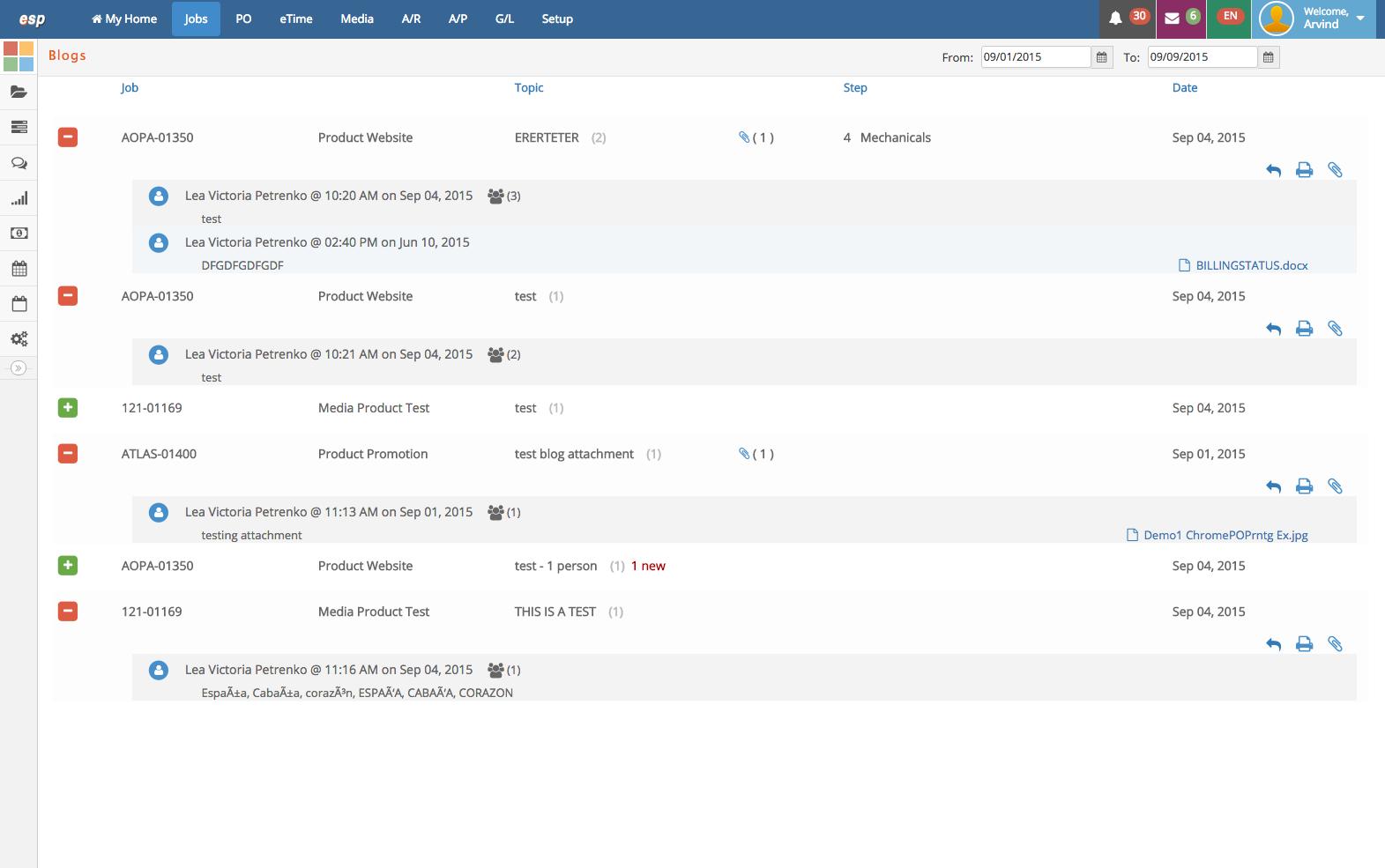 eSilentPARTNER Software - Job Blogs