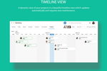 Captura de pantalla de Azendoo: Track teamwork across time visually
