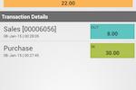 FoodZaps screenshot: FoodZaps alerts restaurant/kitchen staff when inventory item stocks are low