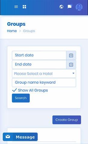 destin Software - Destin managing groups