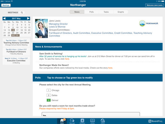 BoardPaq Software - Meeting organizer
