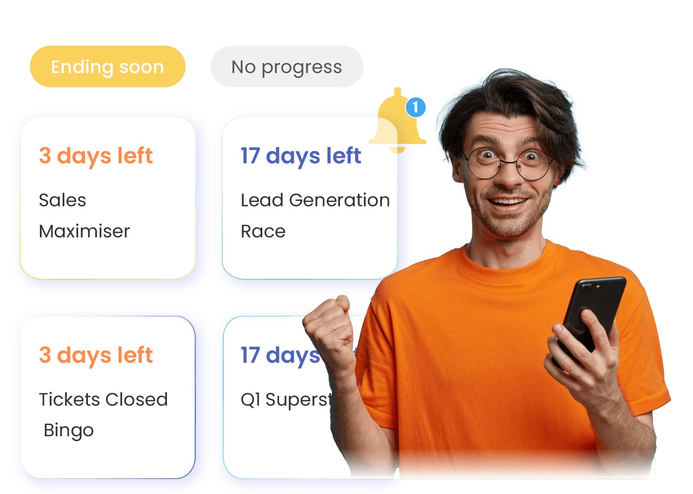 Xoxoday Compass Software - Nudge-based Coaching - Nudge engine that breaks down performance targets into rightly timed interventions to boost achievements.