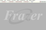 Captura de tela do Frazer: Frazer main interface