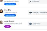 ContentCal screenshot: ContentCal: Member dashboard