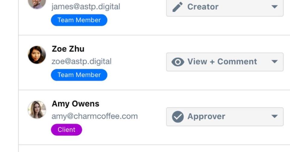 ContentCal: Member dashboard