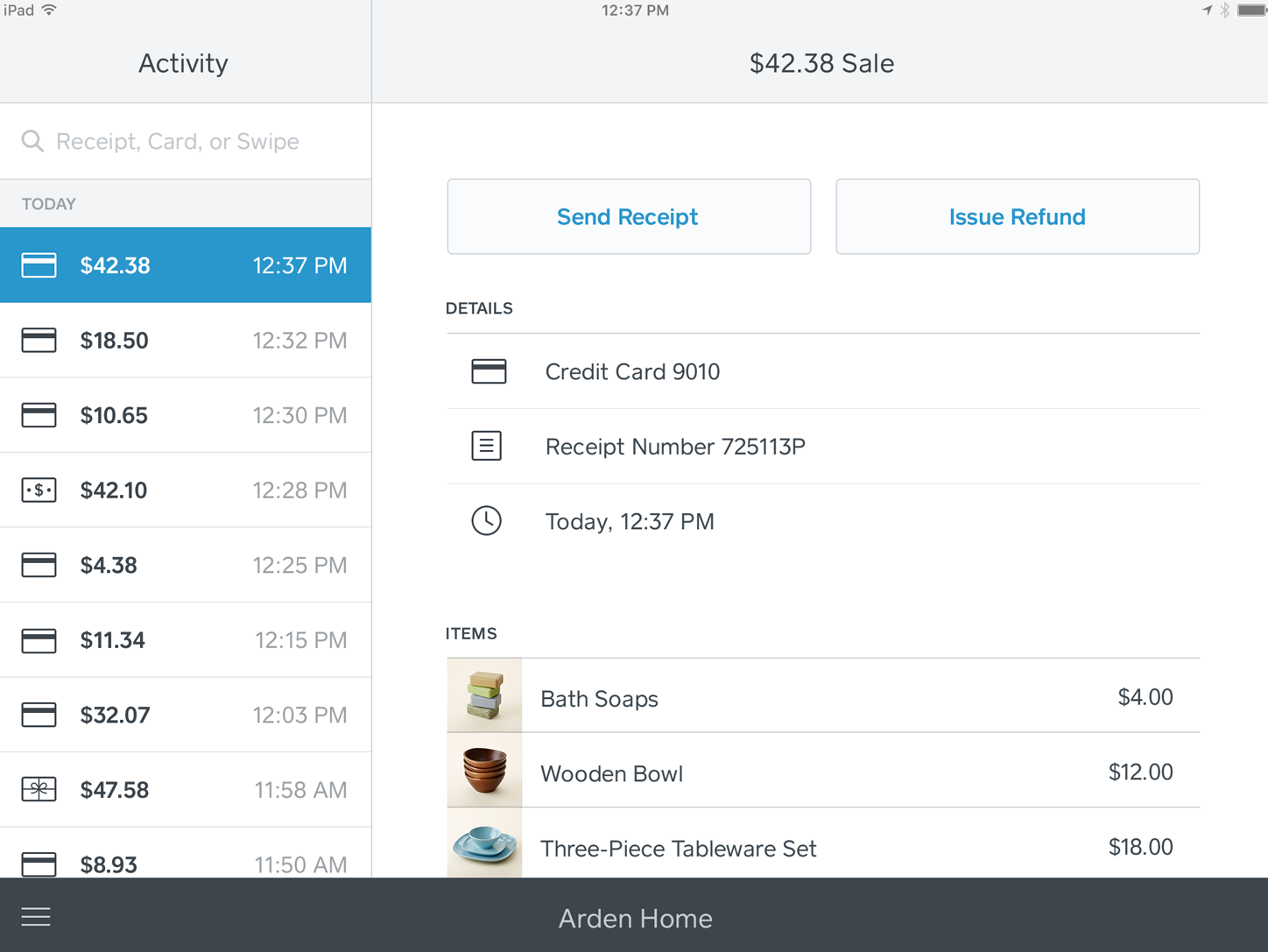 Square Point of Sale Software - 1