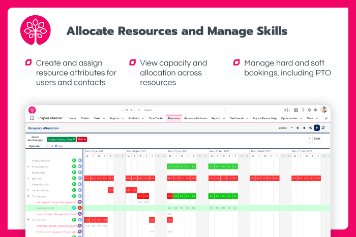 Allocate Resources and Manage Skills
