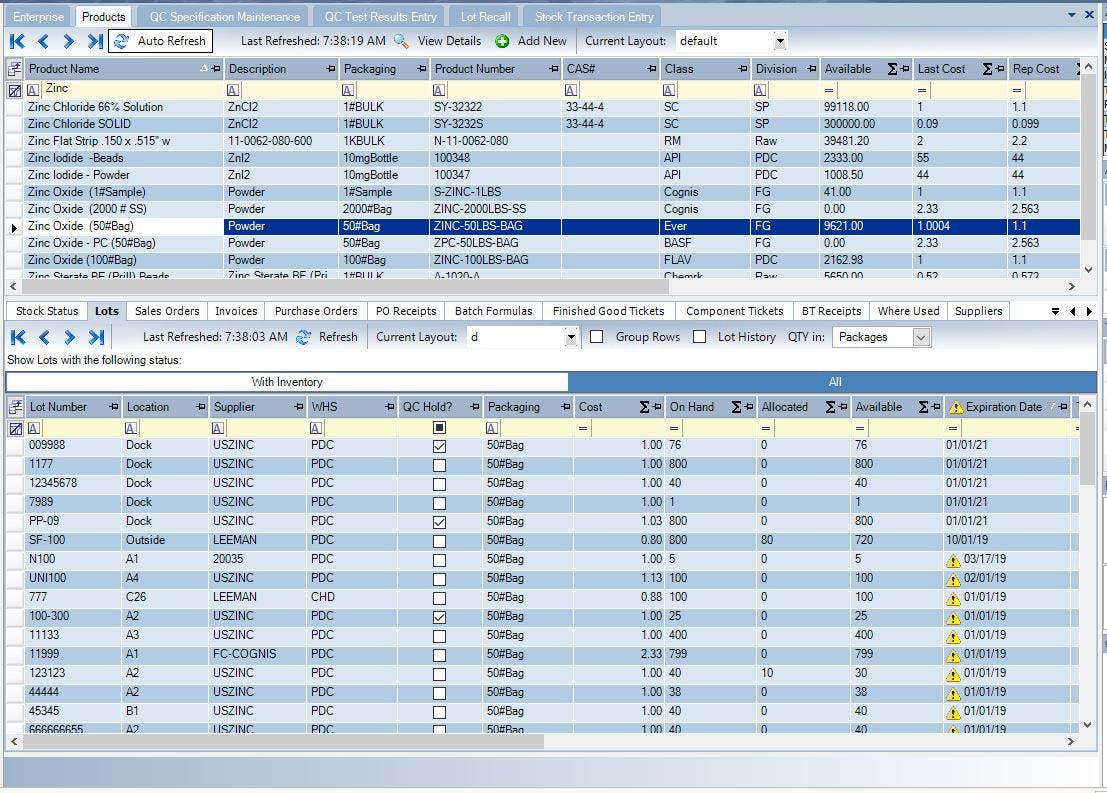 Datacor ERP Software - 6