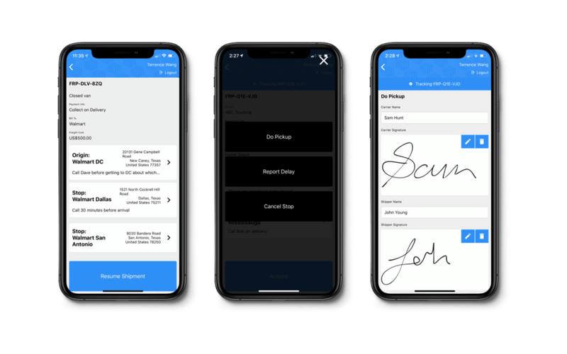FreightPath mobile driver app