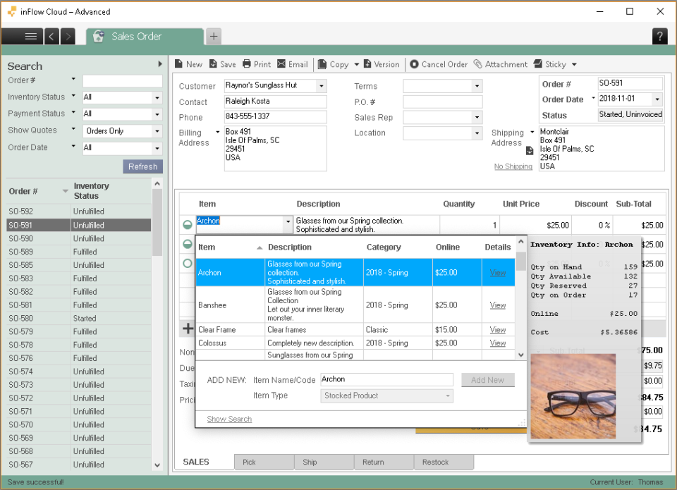 inFlow Inventory Software - 1