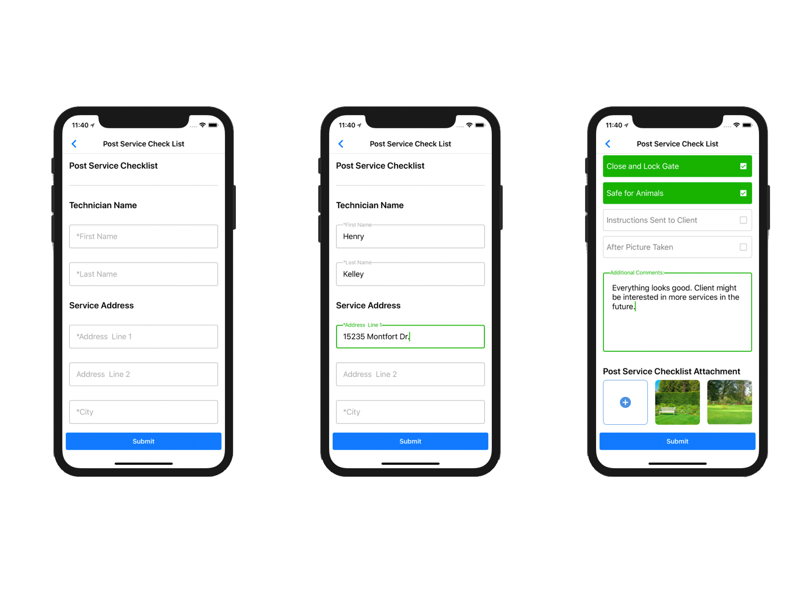 Service Autopilot mobile team app