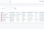 Captura de pantalla de Really Simple Systems CRM: Cases List Page