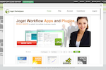Joget Workflow screenshot: Joget Marketplace: Seamlessly install apps directly from the Joget Marketplace.