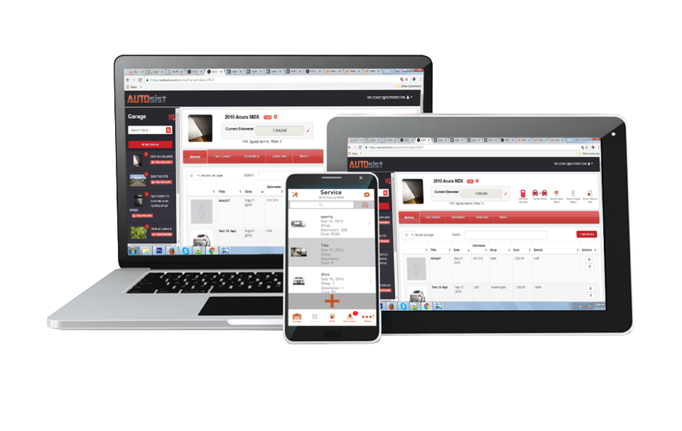 Access AUTOsist on all internet-enabled devices