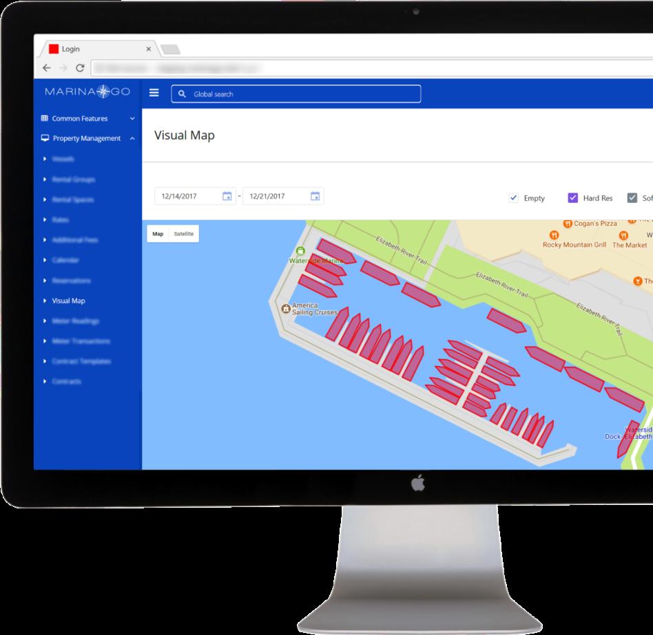 Integrated visual map designer