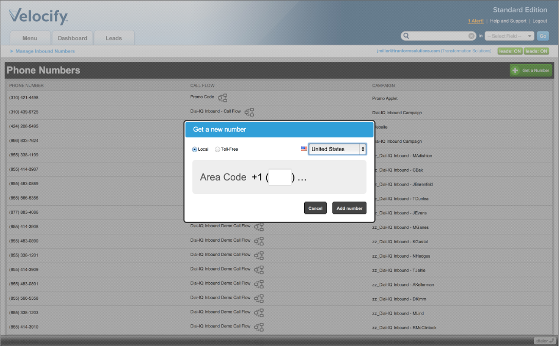 Velocify Software - 3