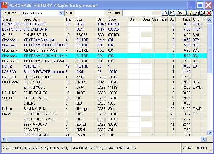WinFDS Software - 2