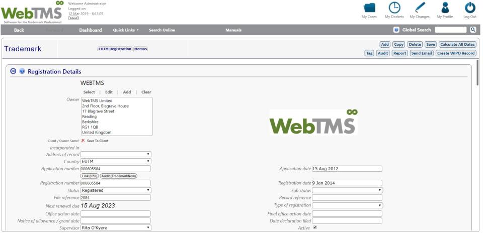 WebTMS Software - 3