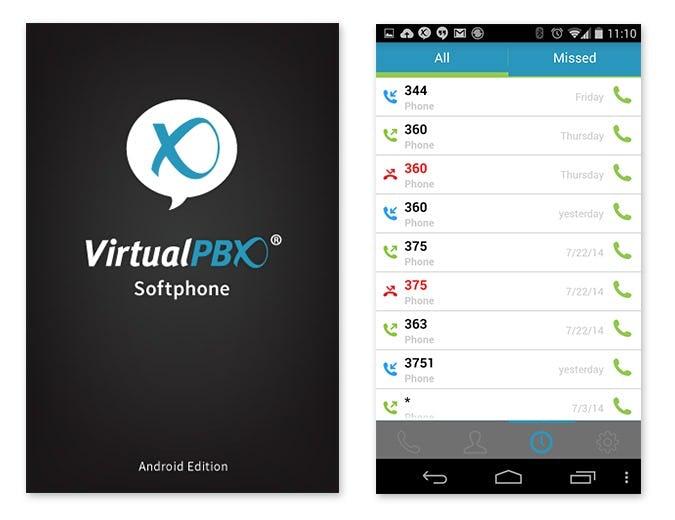 VirtualPBX Software - Mobile Softphone