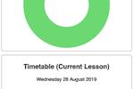 Cloud School screenshot: Cloud School lesson attendance summary