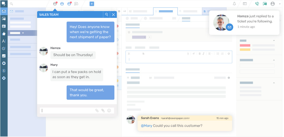 DeskPRO screenshot: Deskpro Agent Interface