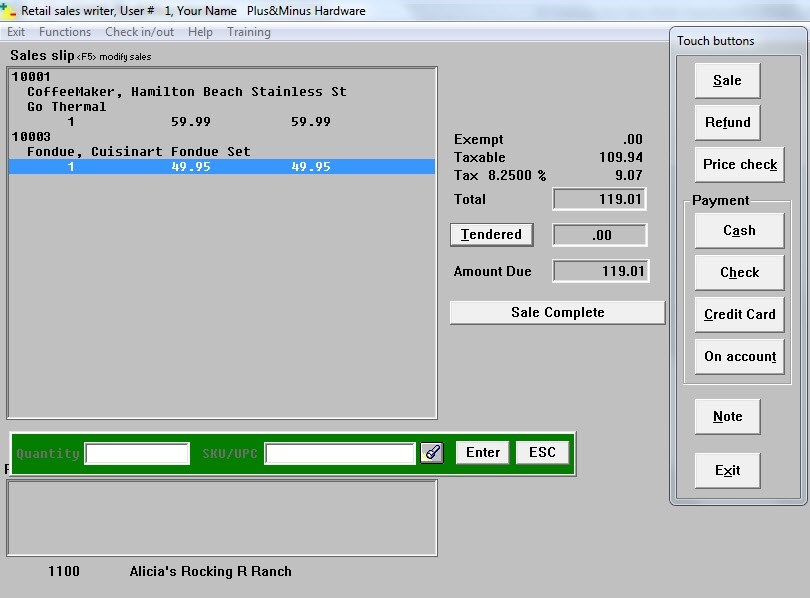 Plus & Minus Software - 3