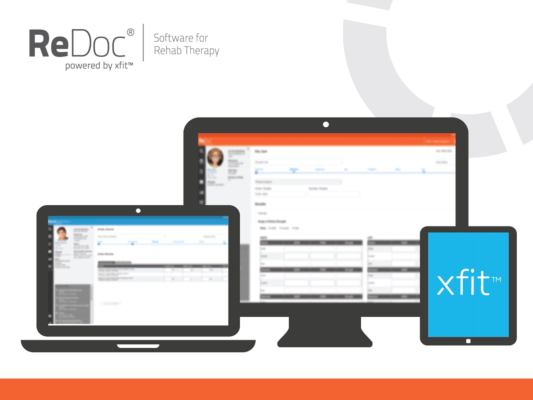 Net Health Therapy for Hospital Outpatient Software - ReDoc dashboards
