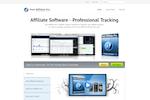 Captura de pantalla de Post Affiliate Pro: Post Affiliate Pro 4 Website