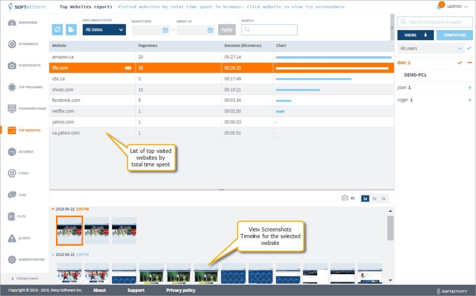 SoftActivity Monitor Software - 5