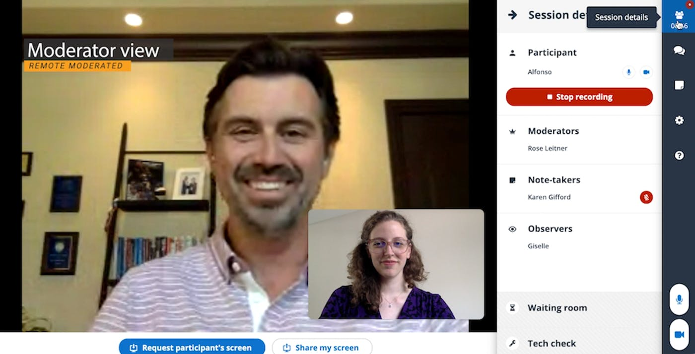 UserZoom video conferencing