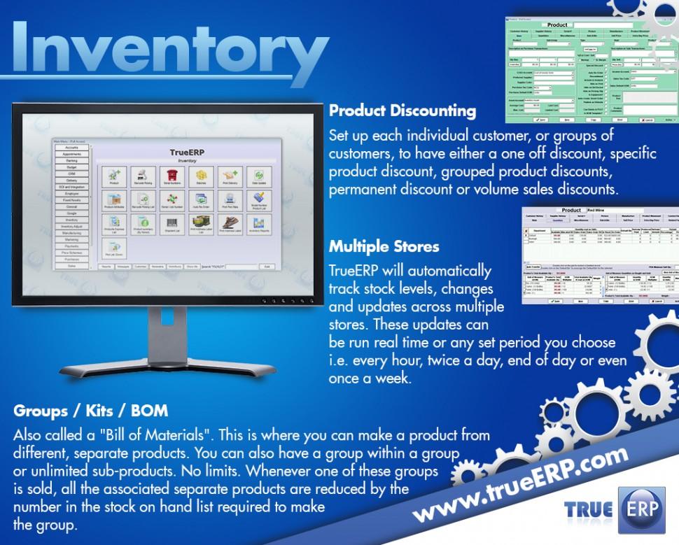 TrueERP Software - Inventory