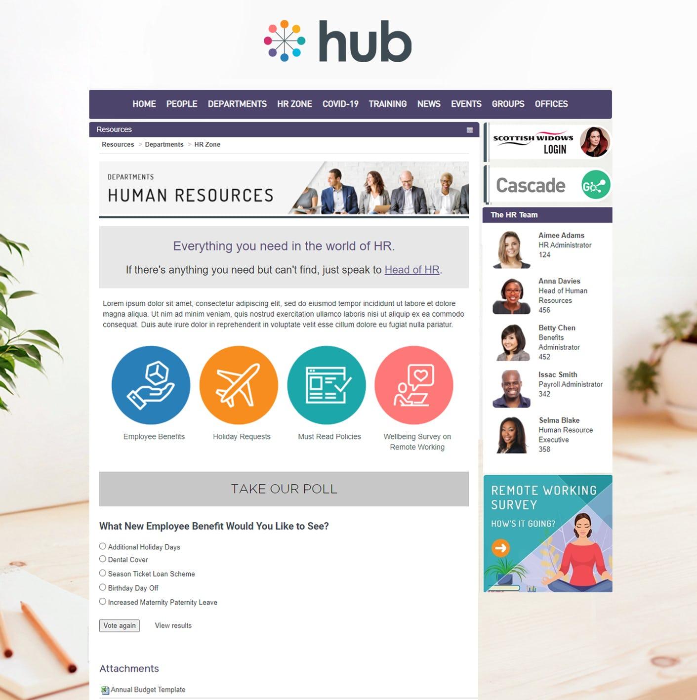 Hub Logiciel - 2