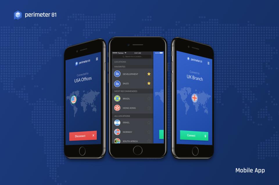 Perimeter 81 Mobile App