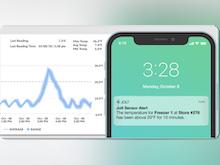 Jolt Software - Jolt temperature alerts