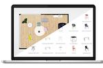 Roomle screenshot: Roomle store layout design screenshot