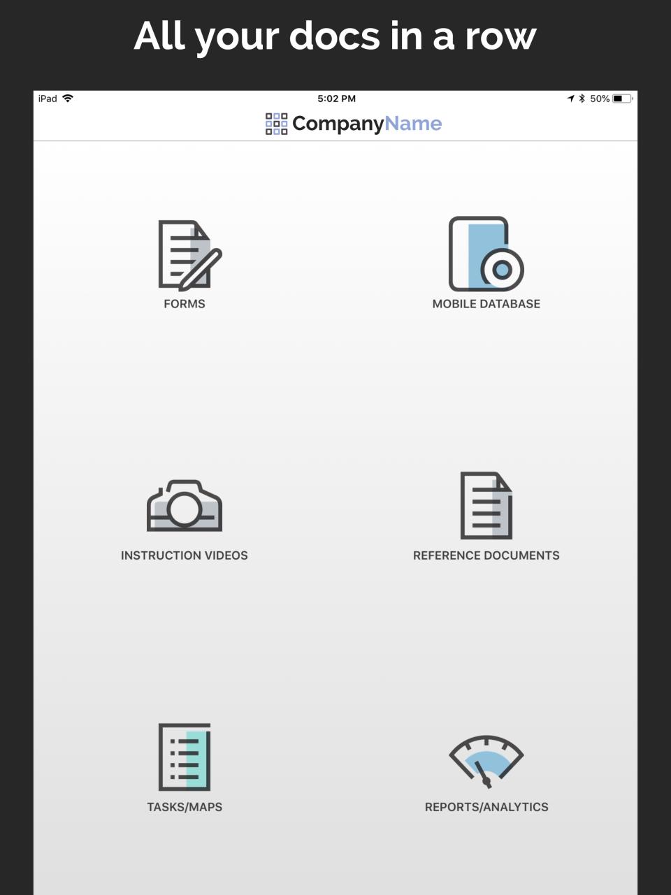 Design a custom dashboard