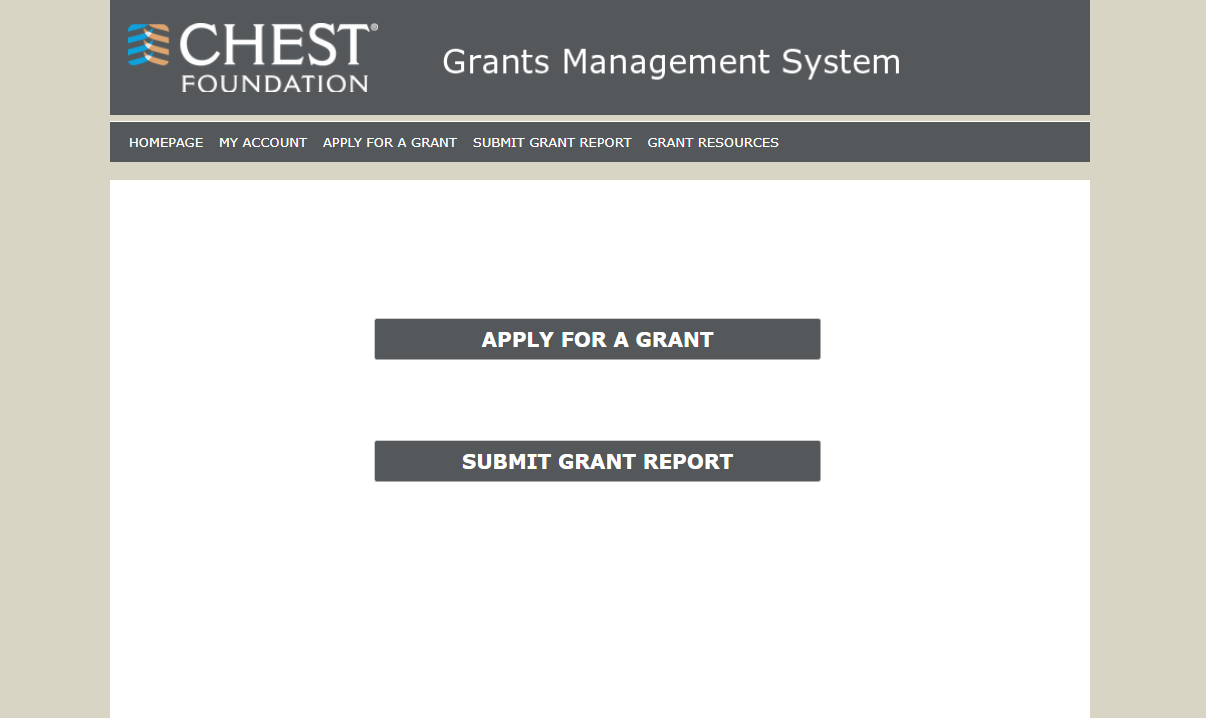 OpenWater allows applicants to apply for a grant through a custom branded website built for applicants