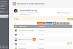 SwiftCloud screenshot: SwiftCloud participant management screenshot