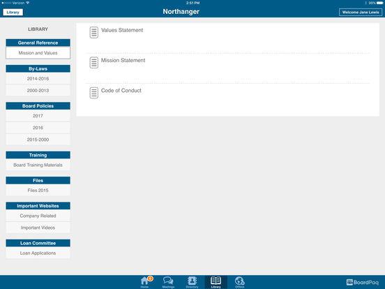 BoardPaq Software - Library