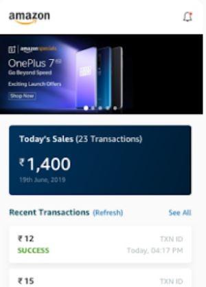Amazon Pay track sales