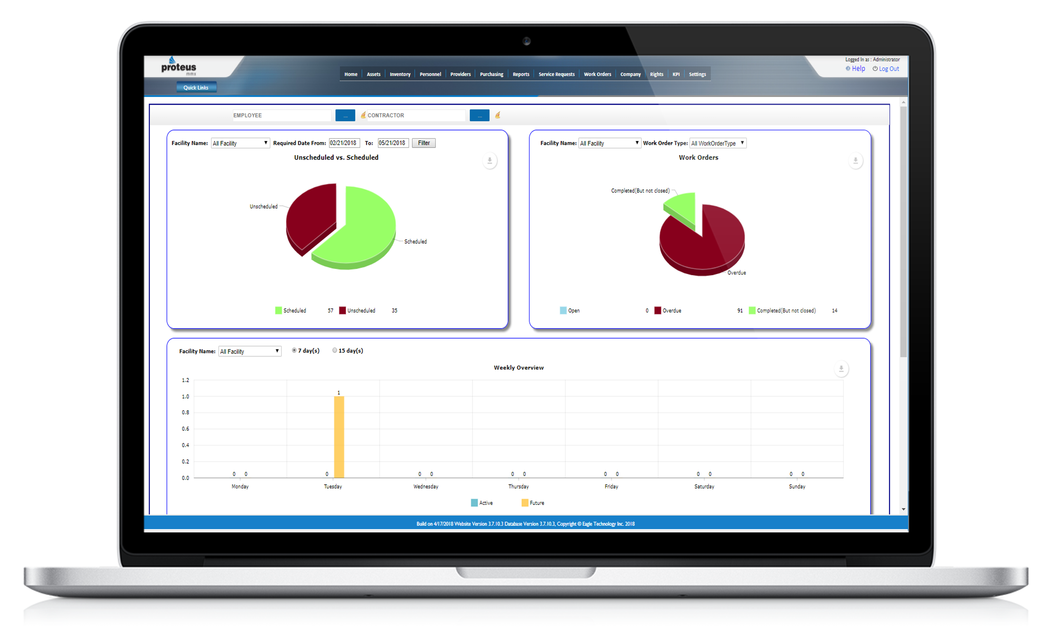 You can monitor asset performance, initiate preventive/predictive maintenance measures, and easily collect data on your assets. This allows for better risk management, warranties, and change notices. When integrated with the factory floor and MES/ERP syst
