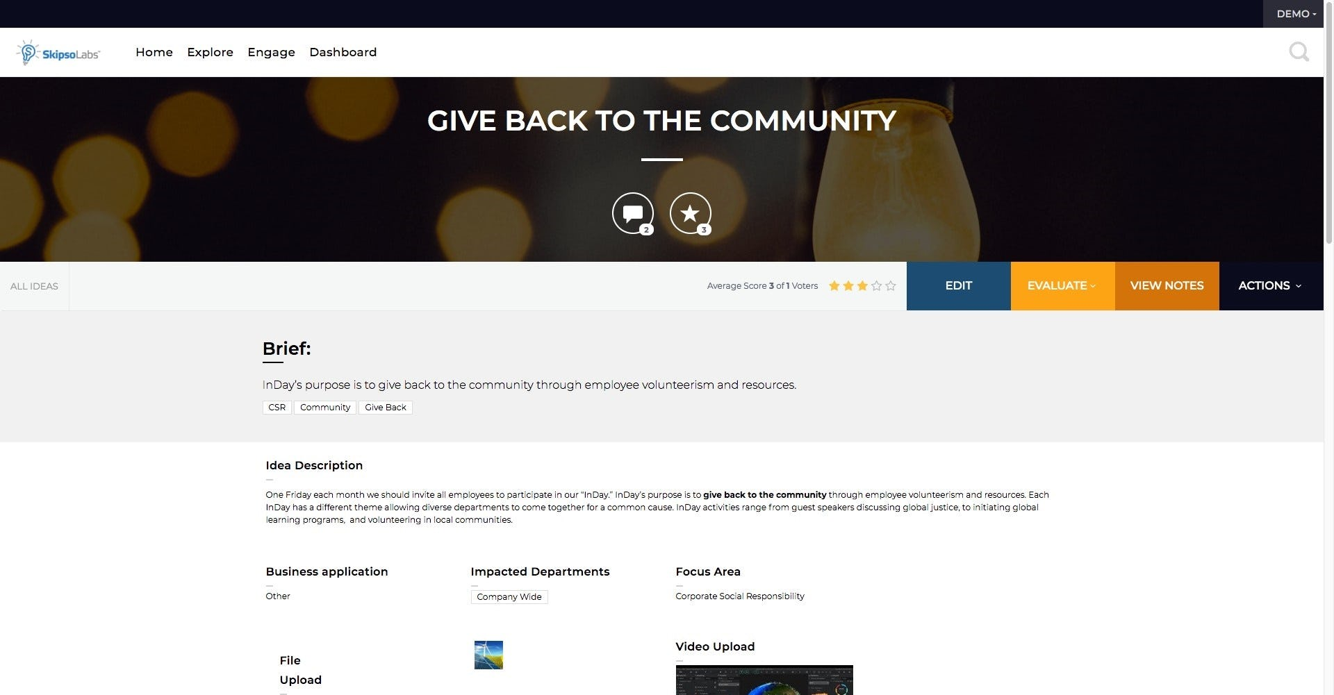 SkipsoLabs community management screenshot