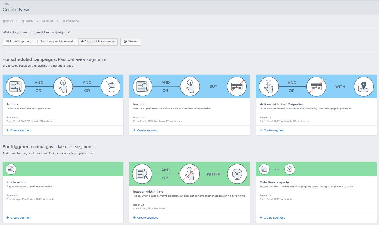Infobip target segmentation through CleverTap integration