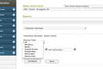 AMO screenshot: Track the flow of money with financial reporting options
