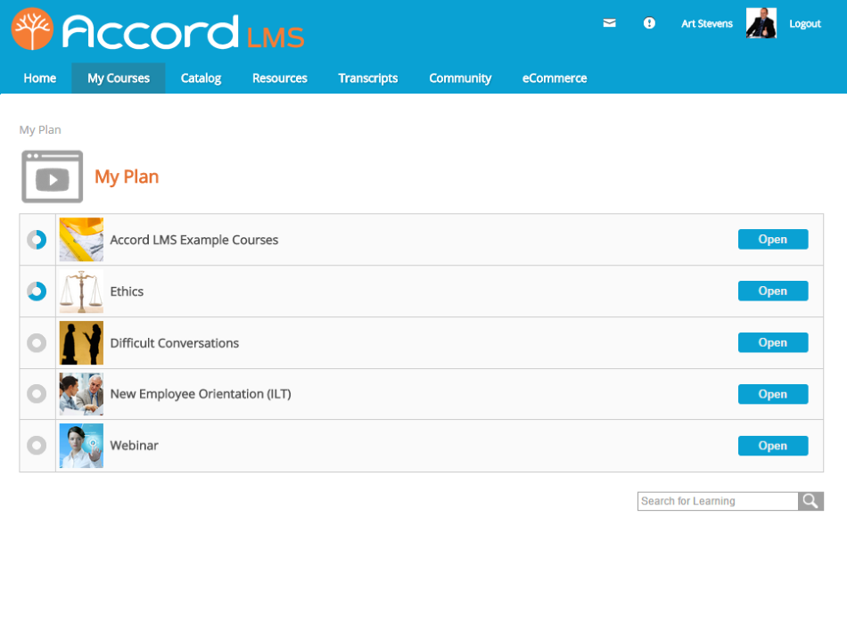 Accord LMS Software - 2