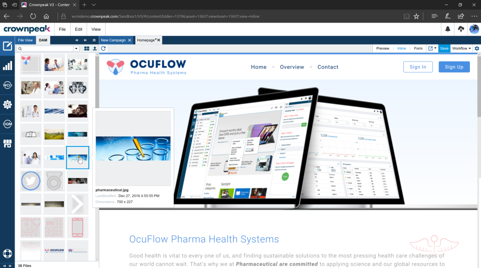 Crownpeak Digital Experience Platform Software - 1